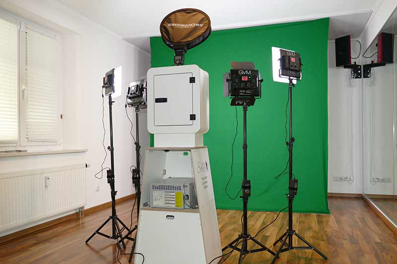 green screen shooting hintergrund
